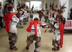 白山神社 鶏頭楽