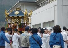 白山神社 神輿