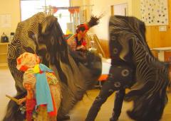 大津神社の獅子舞