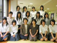 飛騨神岡高校茶道部