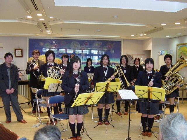 飛騨神岡高校吹奏楽部の演奏会 –...