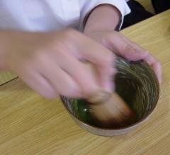 飛騨神岡高校茶道部による呈茶