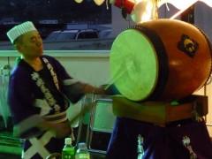 神岡民謡保存会様 力強い音色が響きます