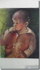 高校の時に描いた油絵